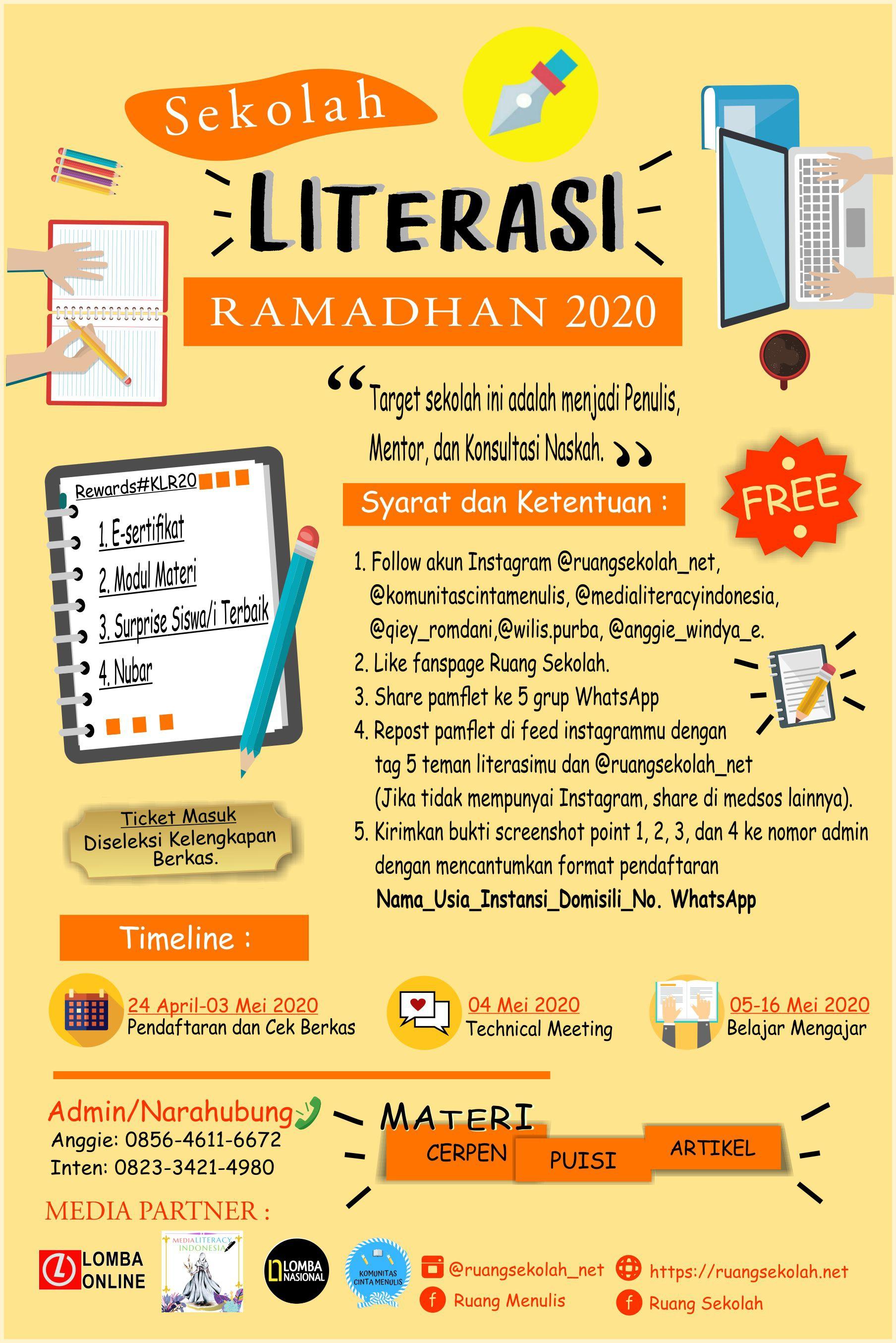 Sekolah Literasi Ramadhan