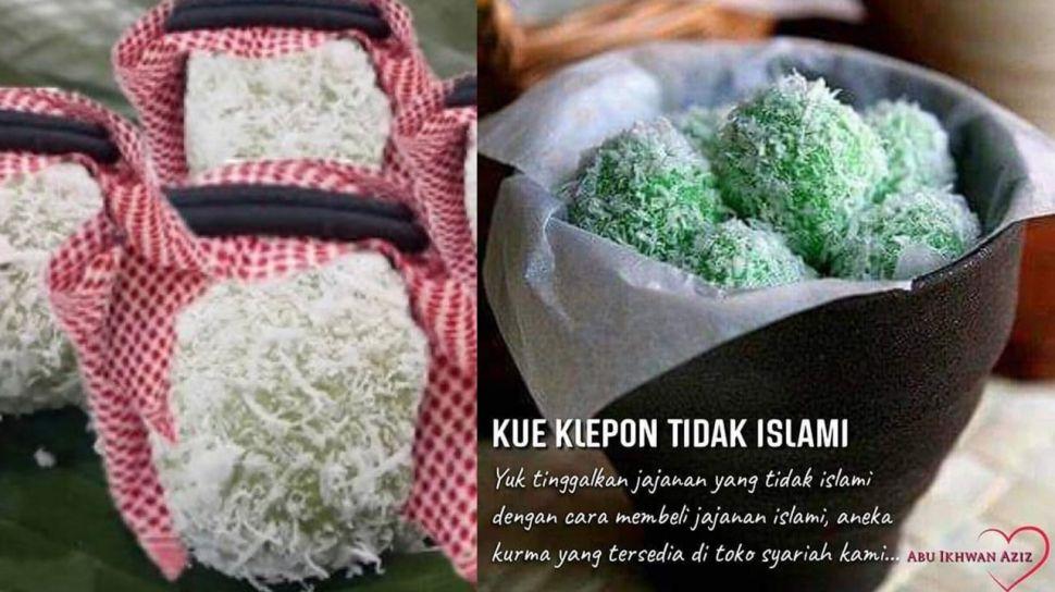 Kue Klepon Tidak Islami