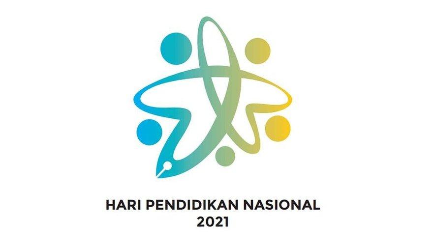 Download Logo Hari pendidikan Nasional 2021 CDR